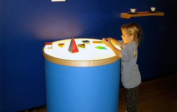 Art Museum Light Exhibit