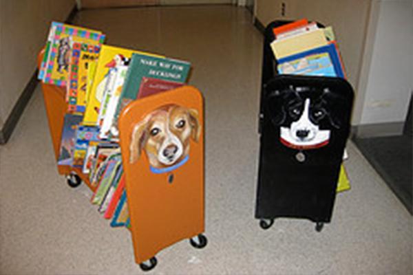 Children's Book Carts