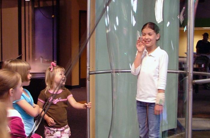 Giant Bubble Exhibit