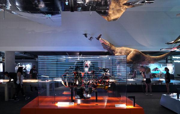 Interactive Aircraft Engine